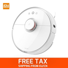 xiaomi mi robot vacuum cleaner 2 Automatic Sweeping Dust WIFI APP Control Wet drag mop Smart Planned with water tank  5200mAh