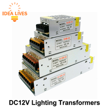 Lighting Transformers DC12V High Quality LED Lights Driver for LED Strip Power Supply 60W 100W 200W 300W.(China)