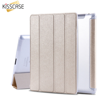 KISSCASE Case For Apple iPad 4 2 3 Smart Awake Thin Silk Leather Cases Tablet Accessories Full Protector Case For i Pad 2 3 4