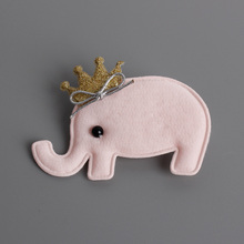 #6108 2017 Hot Sale Haar Accessoires Elephant Hairpins And Elastic Bands Series Pink Yellow Blue Cute Cartoon Headbands