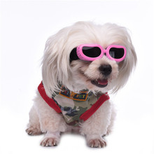 2016 New Dog Anti-UV Windproof Goggles Pets Dogs Puppy Watereproof Sunglasses Protection Dog Eyewear(China)