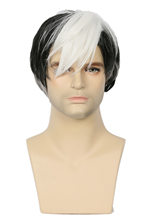 Shiro Wig Voltron Legendary Defender Anime Cosplay Hair Props Men Hot Sales(China)