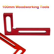 Precision Woodworking Tools 100mm Woodpeckers L-Squre Minisquare Mini Clamping Squares Measurement Tool(China)