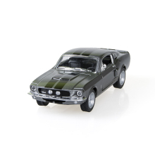 Mustang Shelby GT500 1967 Black 1/38 alloy models model car Diecast Metal Pull Back Car Toy For Gift Collection