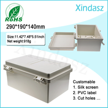(XD-F52)290*190*140mm hinged plastic enclosures project boxes plastic electrical enclosures