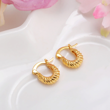 2pairsBaby Girls Small Round Circles Huggies Hoop Earrings Gold Jewellery For Kids Children Aros women jewelry african best gift