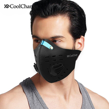 CoolChange Winter Windproof Thermal Sports Cycling Bicycle Mask Multi-Function Filter Ski Snowboard Winter Face Mask