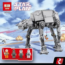 NEW 1167pcs Lepin 05050 Star Series AT- the AT Robot Electric Remote Control Building Blocks Toys Compatible with 10178 for wars(China)