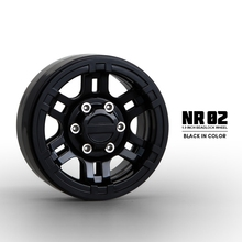 1/10 Scale RC Truck Plastic Wheels Rims 1.9 Beadlcok Wheel (4) For Rock Crawler Axial SCX10 D110 TF2(China)