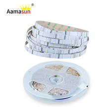 5M LED Strip 3014SMD RGBW Light DC12V 1080leds 216leds/M Holiday String Light IP65 Waterproof Flexible Tape Lamp Colorful Beads()