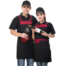 4 Color Polyester Durable Unisex Halterneck Adjustable Sleeveless Apron Kitchen Chef Restaurant Waiter Housewife Cleaning Apron(China)