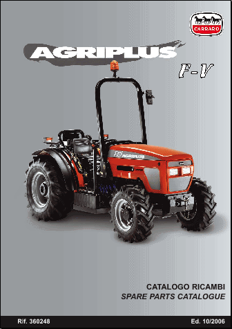 Carrado Agriplus, Agriup and AXLE Spare parts catalog<br><br>Aliexpress