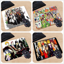 New 2017 Jump Comics All Bleach Characters Personalized Mouse Pad Rectangle Silicone Durable Laptop PC Computer Gaming Mouse Pad