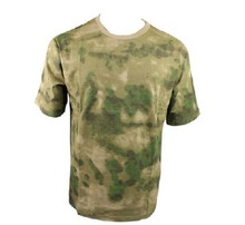 Mouse over image to zoom Details A-TACS FG Camo T-Shirt FOLIAGE GREEN Army Marine Corps USMC Paintball SWAT T shirt(China)