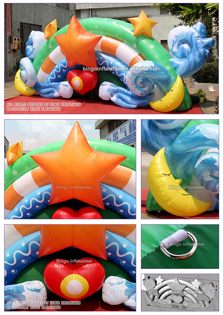 BG-Z0057-Inflatable star heart background wall_2
