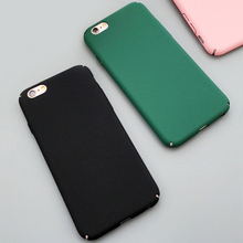 Buy Fashion Luxury Ultra Slim Case iphone 5S 5 6 6S Plus 7 7Plus Colorful Frosted Hard Scrub Back Cover Phone Cases Capa for $1.08 in AliExpress store