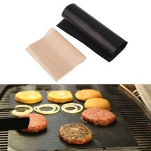 Special Offer 2Pcs Teflon BBQ Grill Mats Meshes For Churrasco Barbecue Grill BBQ Tools Sheet Cooking and Baking