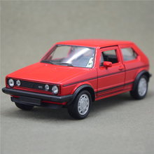 Welly 1:36 VW 1983 GOLF GTI Red Model Diecast Models Toys model cars Alloy Car Pull Back Car Children's Toy Cars Kids Toys
