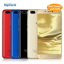"CUBOT Rainbow 2 13MP+2MP Dual Back Camera Android 7.0 5"" HD IPS Smartphone MTK6580A Quad Core 1GB+16GB 2350mAh OTG Mobile Phone"