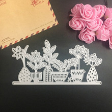 Metal Cutting Dies Nice Flowers Pattern Stencil DIY Scrapbooking Album Paper Card Embossing Craft