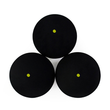 2Pcs / 4Pcs Quality Squash Balls Rubber Squash Racquet Balls Squash Training For Advanced People Single Yellow Point Squash Ball(China)