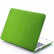 laptop bag case Dark green color laptop case for macbook Frosted Matte/notebooks Case cover air/pro/retina 11/13/15 without logo