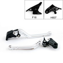 Areyourshop Motorcycle Brake Long Clutch Levers for Honda CB600F Hornet 2007-2013 CBR600F 2011-2013 CBF600/SA 2010-2013 2PCS(China)