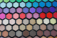 Fashion 149 Color Eyeshadow Makeup Palette Honeycomb Design With Mirror Makeup Beauty cosmetics #2