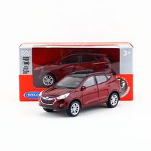 Welly Diecast Model/1:36 Scale/Hyundai Tucson IX35 toy/Pull Back Educational Collection/for children's gift(China)