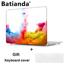 Batianda for Apple Macbook Pro 13 15 Touch Bar Hard Case Cover for Mac Pro air 13.3 11.6 inch Laptop Shell+Keyboard Cover(China)