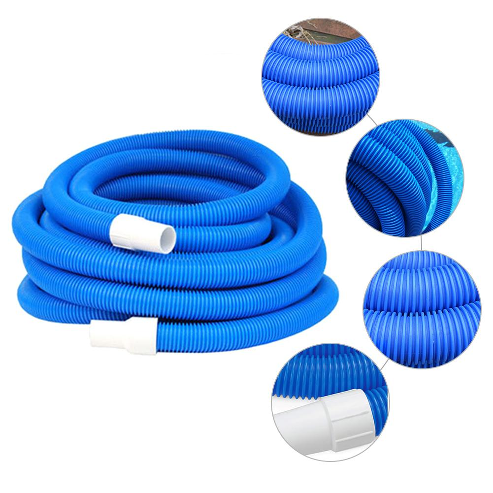 """Various Lengths Aqua Select Swimming Pool Vacuum Cleaning Hose 1-1//2/"""" Diameter"""