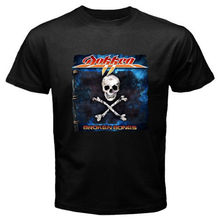 2017 New Fashion Brand Clothing New Dokken *Broken Bones Metal Rock Band Legend Mens T Shirt(China)