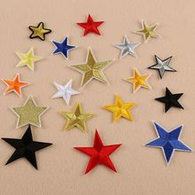 1 PC 2017 Star Series Embroidery Iron On Patches For Clothing Appliques Sew On Motif Badge DIY Clothing Bag 19 Models