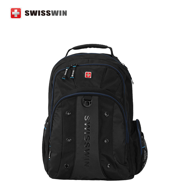 Swisswin High quality 12-15 Inch Laptop Backpack SWBC007 Multi-Pocket Backpack For Business Computer Bag Mochila<br><br>Aliexpress