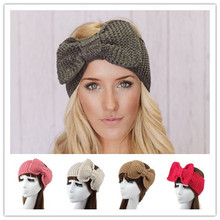 women winter woolen braided crochet elastic headbands headband headwrap head hair band bandana turban wrap accessories for women