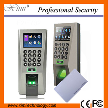 F18 3000  Users Tcp/Ip Rfid Card Reader Fingerprint Time Attendance Door Access Control System