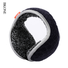 BKONE Winter Earmuffs Men Foldable Ear Muffs Back Wear Velvet Ear Warmers Warm Plush Earflap Adjustable Ear Cover Earbag