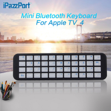 Professional IPazzPort for Apple TV 2&3&4 generations of Bluetooth keyboard remote control bluetooth keyboard wireless free ship(China)