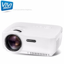 ViviBright SimpleBeamer GP70 Portable LED Projector Video Beamer 1200 Lumens Home Cinema Entertainment For Game Video TV(China)