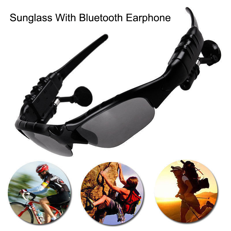 Sun Glasses Wireless Bluetooth Earphone headphone Headset for phone ,driver, suitable for outdoor hiking, driving, travel use(China (Mainland))