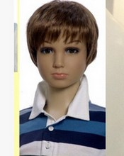 hairdressing head wigs , Children 's models wigs / clothing props bald child wig boy,Freeshipping,M00435