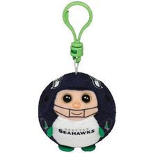 "Pyoopeo Ty Beanie Ballz 3"" 7cm Seattle Seahawks the Football Player Plush Stuffed Animal Collectible Doll Toy with Both Tags(China)"