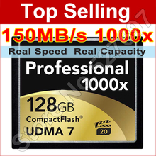 150MB/s Brand 1000x 32GB 64GB 128GB CompactFlash CF Card High Speed Flash Memory Card For DSLR Camera Full HD 3D Video Camcorder