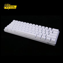 Mini Bluetooth Mechanical Keyboard RK61 Support PC/MAC/IOS/Android For Mobile Phone iPad and Tablets Laptops Computer gaming(China)