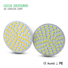 2016 New LED Spotlight GU10 Dimmable led bulb 7W 5W 3W Warm White / white 120V/220V Ultra Bright Bulbs