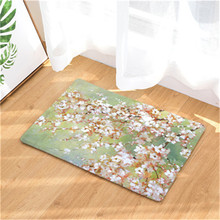 New Arrive Door Mats for Entrance Door Flowers Pattern Carpets Living Room Dust Proof Mats Home Decor 40x60cm 50x80cm(China)