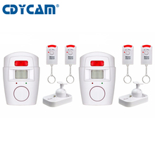 CDYCAM 2 Remote Controller Wireless Home Security PIR MP Alert Infrared Sensor Alarm system Anti-theft Motion Detector 105DB(China)