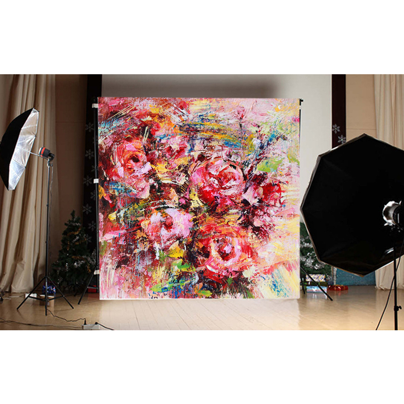photography background for photo studio  vinyl Digital Printing cloth Floral backdrops 150X150cm F-2136<br><br>Aliexpress