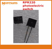 Free ship 100pcs/lot Original reflective sensor RPR220 photoelectric switch, laser typing optocoupler(China)
