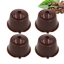 3/4/5/6pcs/lot Refillable Dolce Gusto Reusable  Coffee Capsule Coffee Compatible Nescafe Dolce Gusto Coffee Capsules